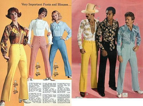 70年代のファッションがかわいい、的なツイートがちらほらあるけど、多分それは60年代の間違い(or 10年おくれて日本に入ってきてるだけの、60年代のファッション)