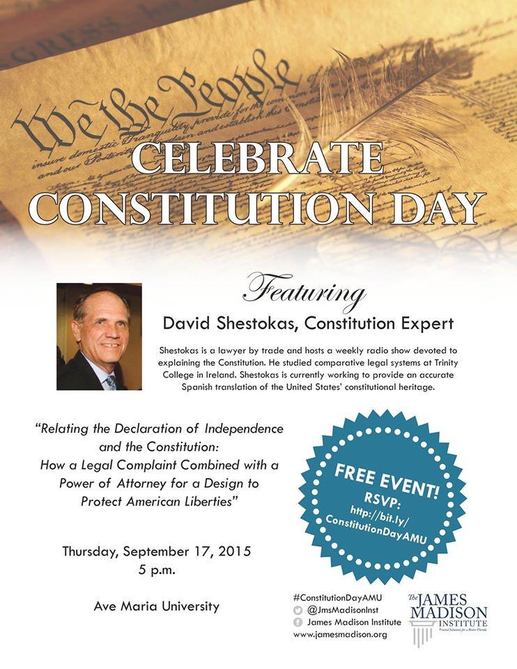 In #SWFL on #Constitution Day, 9/17? Join me at @avemariauniv Details at this link: https://t.co/zyFKo2GjZC http://t.co/uiHjpRcGsK