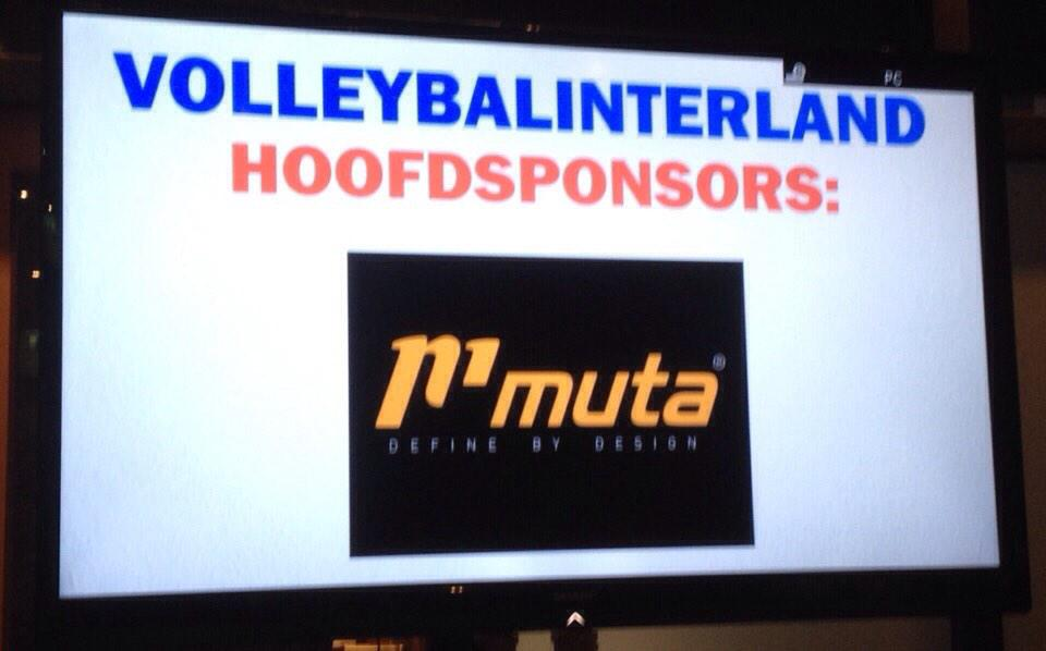 Muta Sport On Twitter Trotse Hoofdsponsor Volleybalinterland Ned