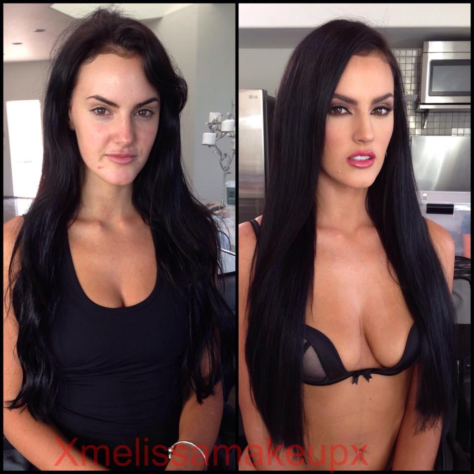 Porn Stars Look Different Without Makeup