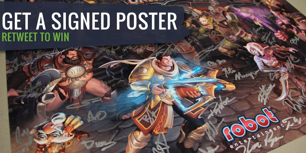 Want to win a  poster signed by the #OMDU devs? RT this and we'll select 10 random winners on Tuesday! NA only. http://t.co/TqR9NyAkMn