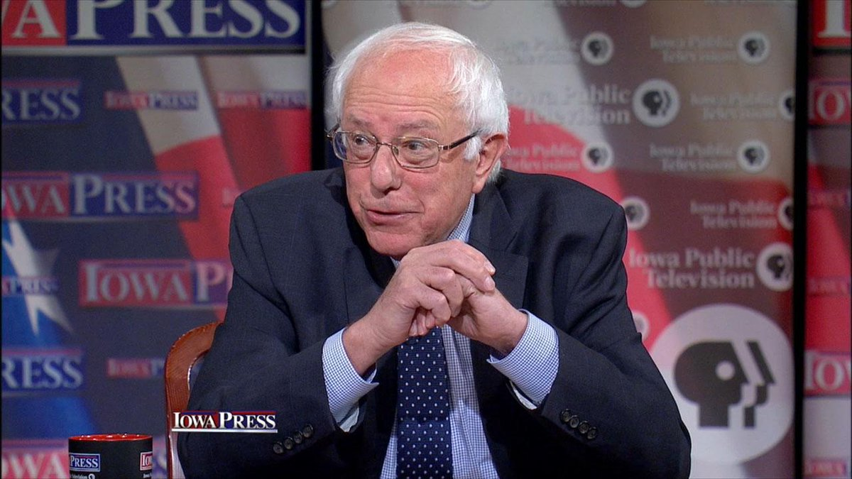 TONIGHT at 7:30: Presidential candidate #BernieSanders chats on @IowaPress about the Democratic race, minimum wage. http://t.co/k8F9bC4I7r