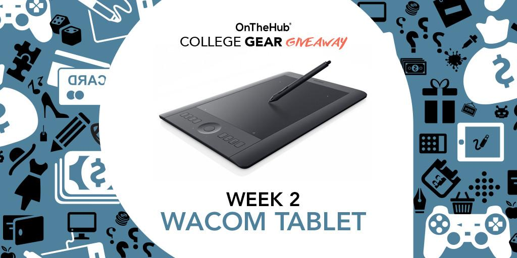 You could win a @Wacom tablet from our #CollegeGearGiveaway this week! Enter here: http://t.co/XVvG0rU0MQ http://t.co/CDOch5USzd