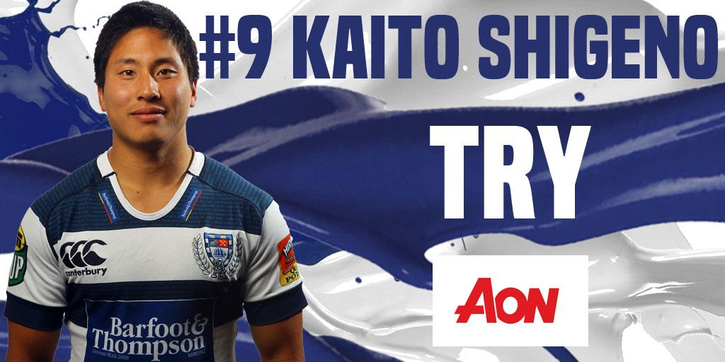 What a try!!! Our backs combining to put Shigeno under for the five points. #WAIvAKL http://t.co/ntxNhXylDS