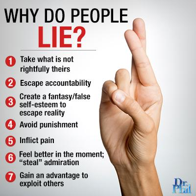 Dr. Phil on Twitter: Why do people lie? Read more: http