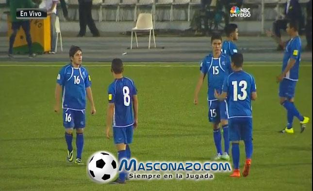4-9-2015: Eliminatorias Copa Mundo Rusia 2018: El Salvador 1 Curazao 0. COGTAQUUEAAuH3L