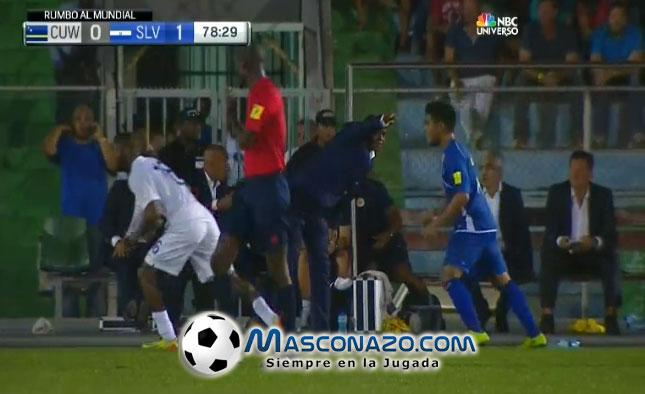 4-9-2015: Eliminatorias Copa Mundo Rusia 2018: El Salvador 1 Curazao 0. COGa_3IWEAAmBCl