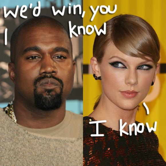 Is @taylorswift13 going to be @kanyewest's vice president pick? http://t.co/XyTMtLh9Sn http://t.co/Df1mzzG2bz