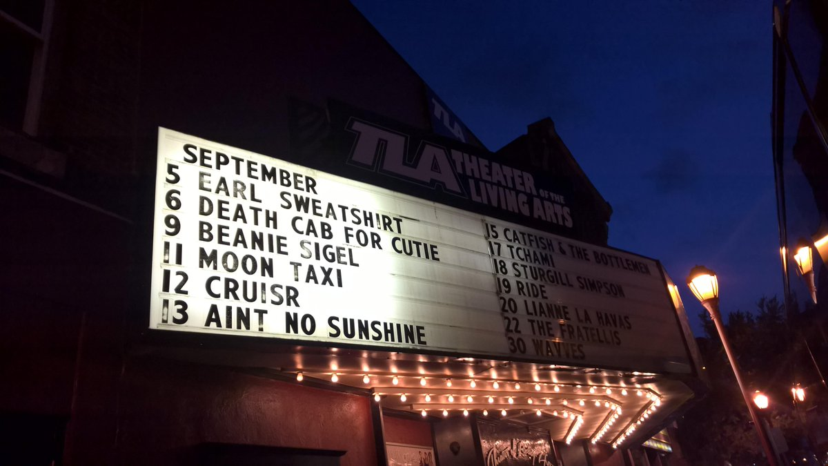 Just 15 days away, and now on the big board at @TLAPhilly... Can't wait for @rideox4 in Philadelphia! http://t.co/84nq6Th9PV