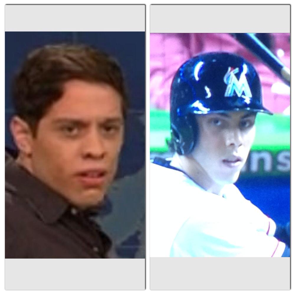 Looks like @petedavidson plays for the Marlins now. http://t.co/hzDFfdCSDF