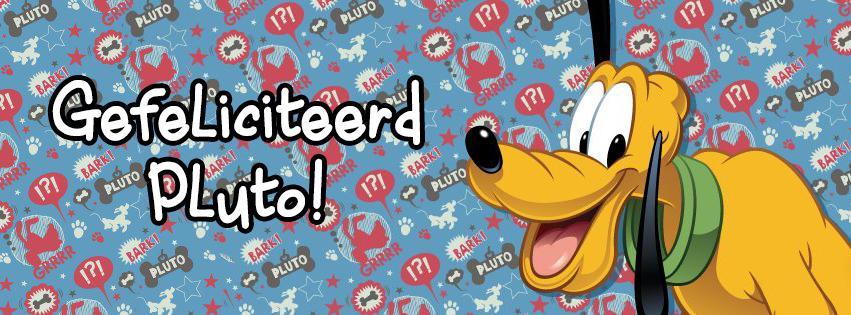 pluto jarig Disney NL on Twitter: