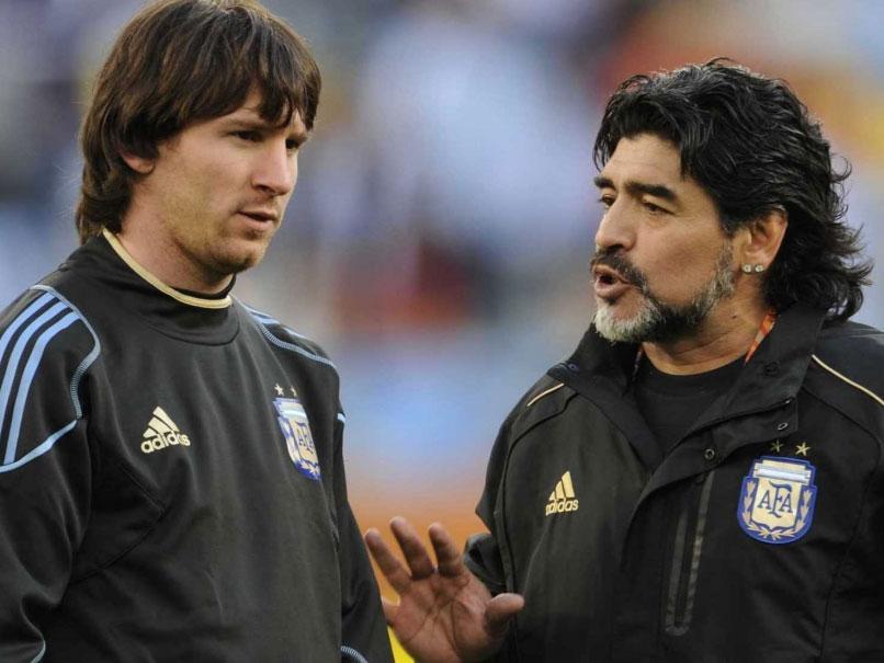 Javier Zanetti, Lionel Messi, Diego Maradona, Argentina, Barcelona
