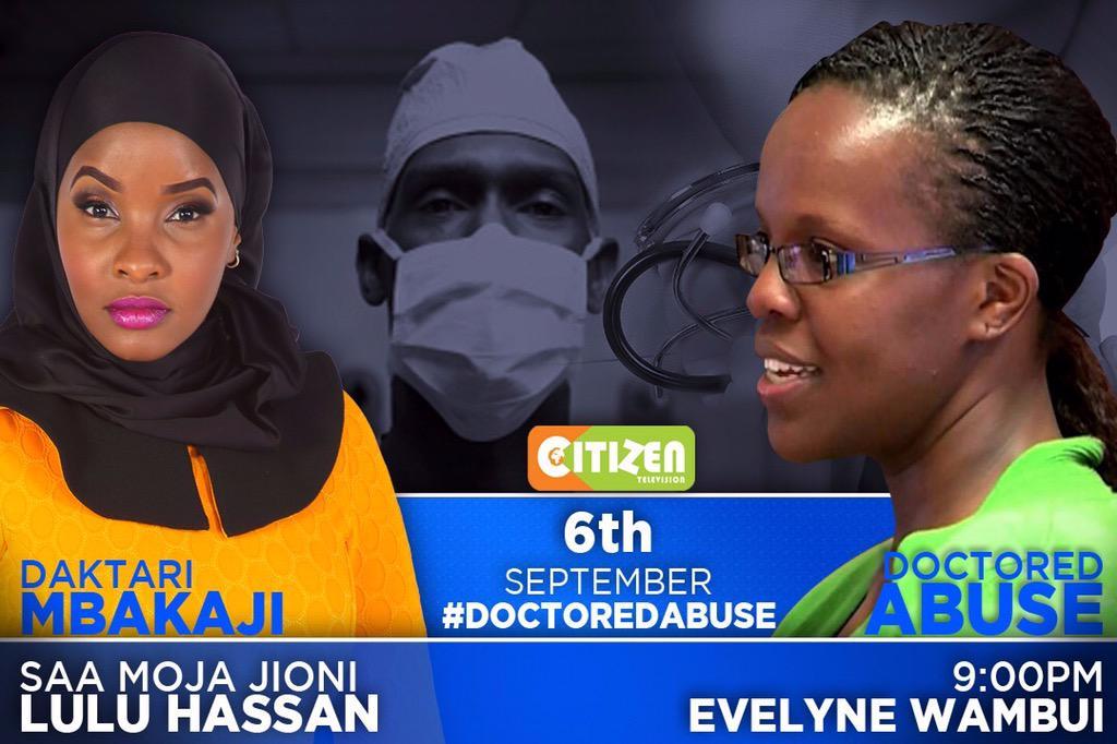 This Sunday on @citizentvkenya #DaktariMbakaji #DoctoredAbuse @LuluHassan @EvelynWambui http://t.co/JECsxbFjgs