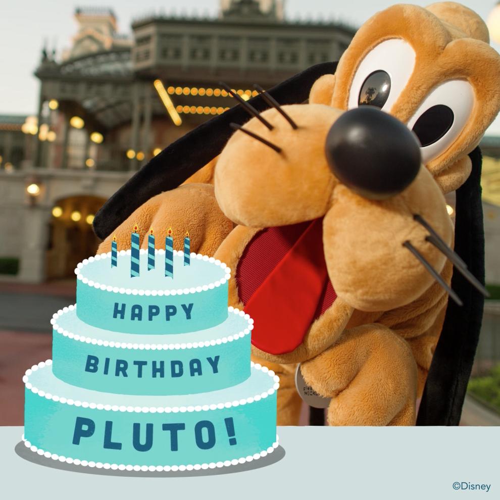 Walt Disney World On Twitter Happy Birthday Pluto Httpt