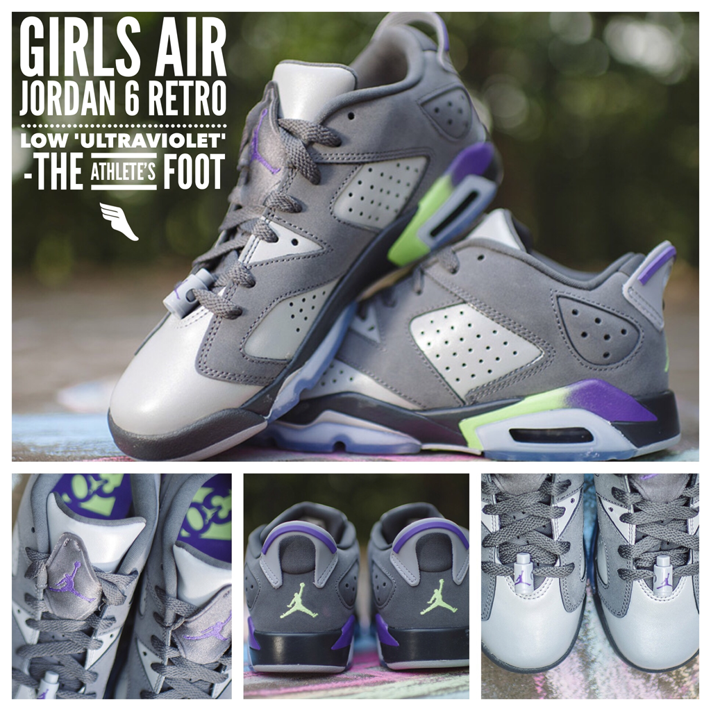 e415ac34d84798 ... Dates The Girls Air Jordan 6 Retro Low Ultraviolet officially release  today at tafkicksnc! httpt.