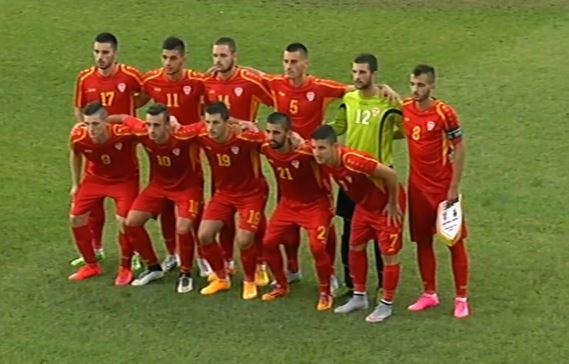 The starters for Macedonia U21