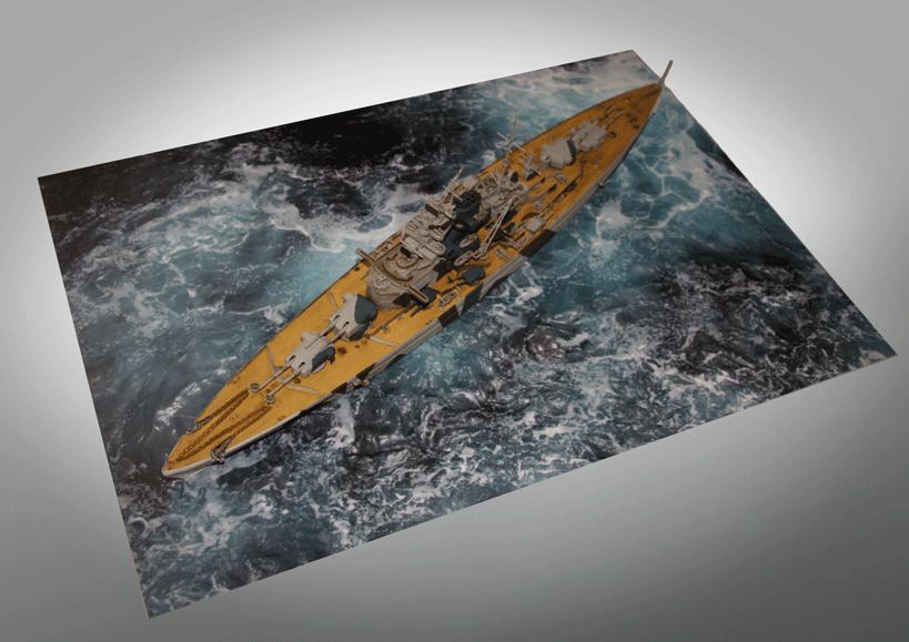 for waterline models Coastal Kits Ship Display Base