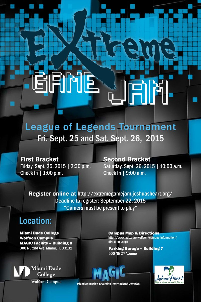 Miami Dade College On Twitter Want To Play League Of Legends While