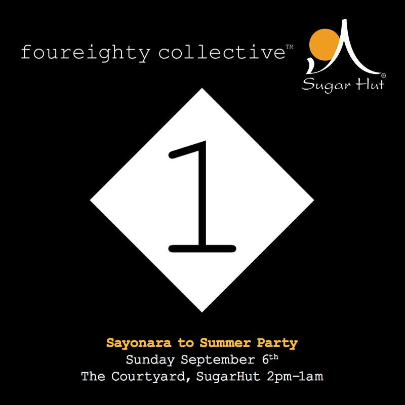 This Sunday, we say sayonara to summer as @480collective take over the courtyard during the day from 2pm-1am! http://t.co/mjCYMSjhnQ