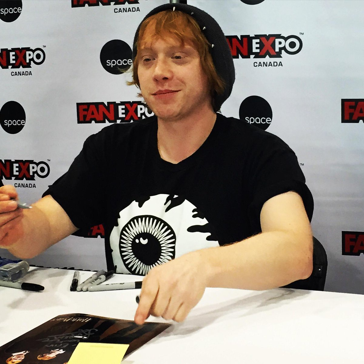 Ron Weasley is in the #FanExpoCan house!! http://t.co/3VxBWoSYGh