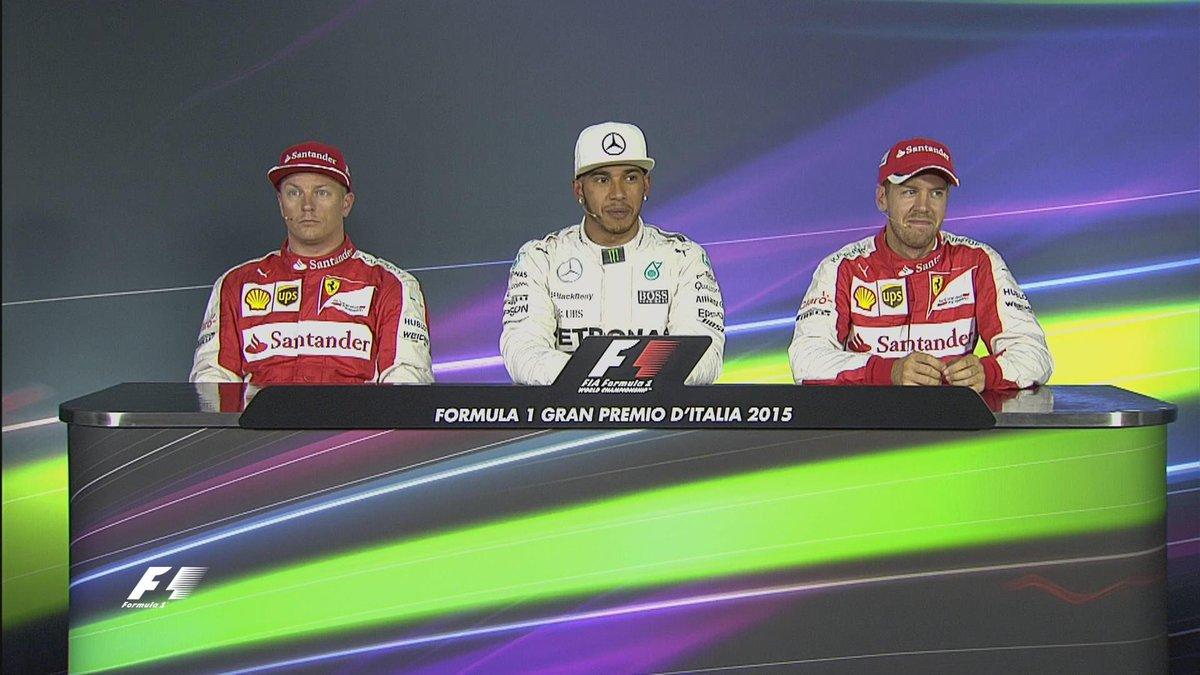 F1 GP Italia: a Monza partono Hamilton Raikkonen e Vettel. Ferrari a sopresa sulla griglia di partenza