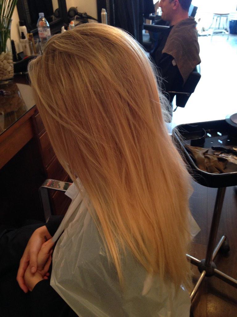 Hazel Haydn On Twitter Dirty Blonde Highlights To Full Head