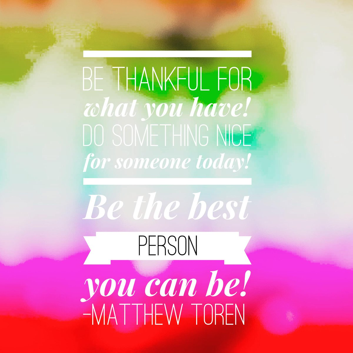 "Be The Best Version Of You Quote: Matthew Toren On Twitter: ""Always Strive To Learn More"