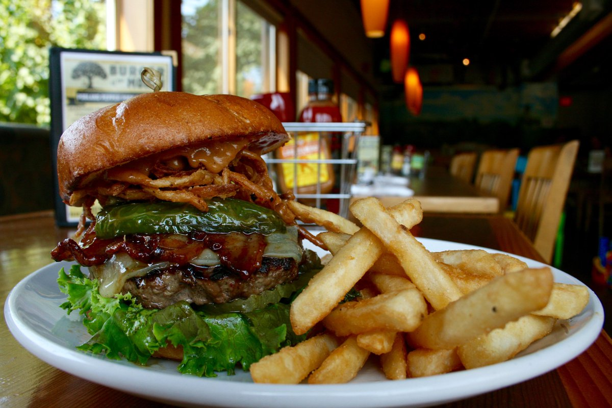 Laurelwood Brewing On Twitter Hungry Allow Us To Suggest Our Burgerofthemonth Spicy Peanut Butter Pickle Bacon Burger Tonguetwister Http T Co Pty4rw561z