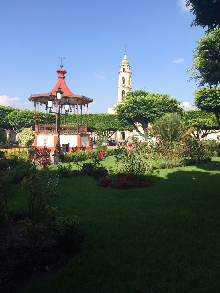 "Uriangato on Twitter: ""Hermoso Atardecer en El Centro Hist�rico de ..."