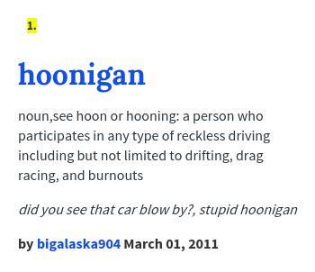 Hoonigan Urban Dictionary >> Urban Dictionary On Twitter Izachrollins Hoonigan Noun See