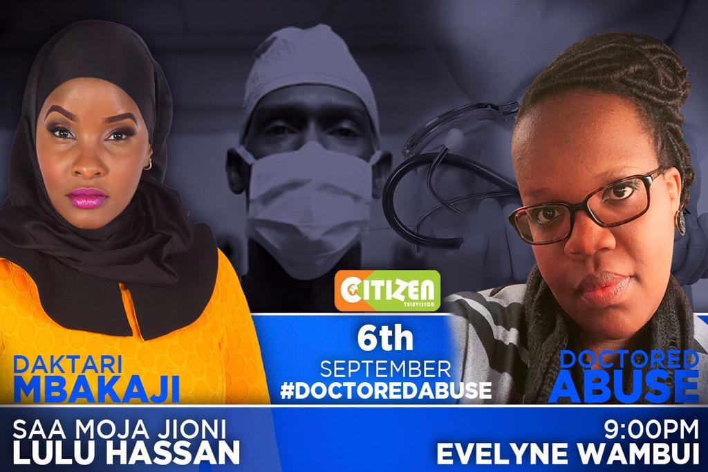 #DoctoredAbuse #DaktariMbakaji tonight @citizentvkenya http://t.co/gjk18PMEEb