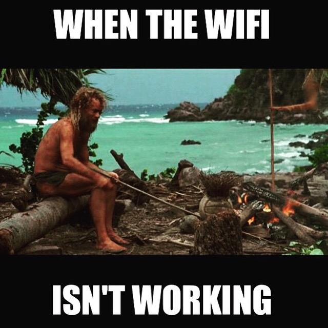 This is exactly how it feels when my internet is out.
