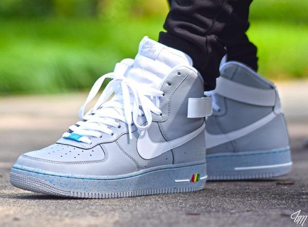 Nike Air Force 1 Mid (White on White) Unboxing and On Feet