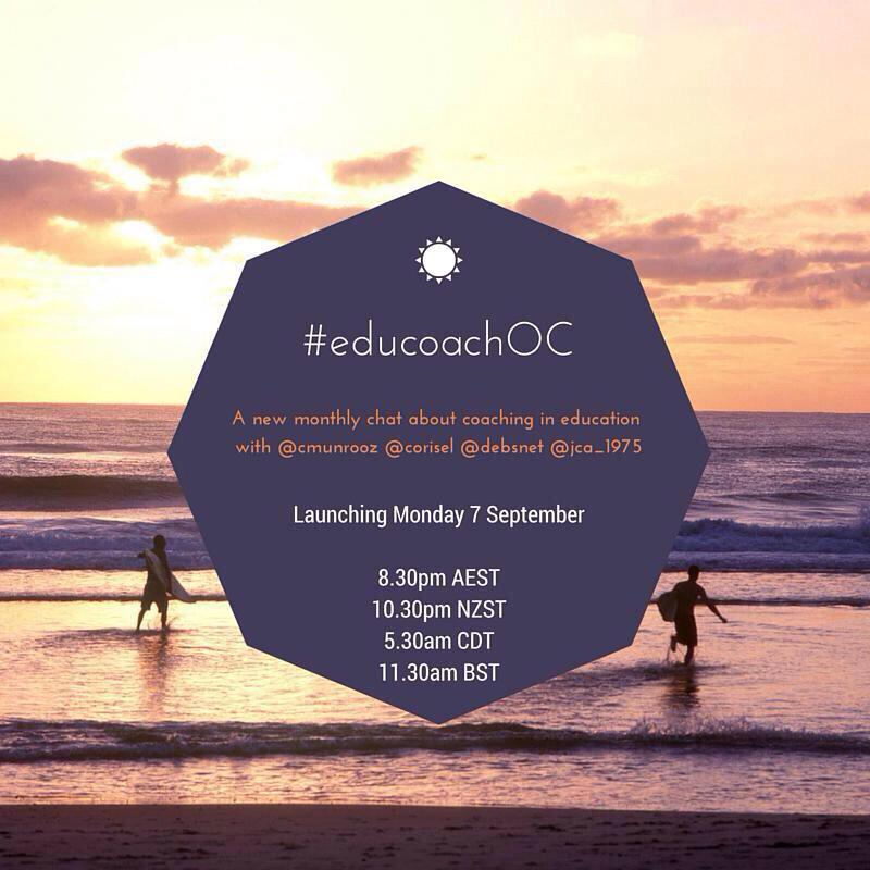 It'd be great to see some CC folks at the 1st #educoachOC chat! http://t.co/spfFvTzYR7 #aussieED #sunchat #educoach http://t.co/gsWceMedfN
