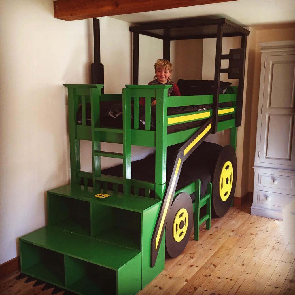 Katy Coe On Twitter The New John Deere Tractor Bunk Bed Made By