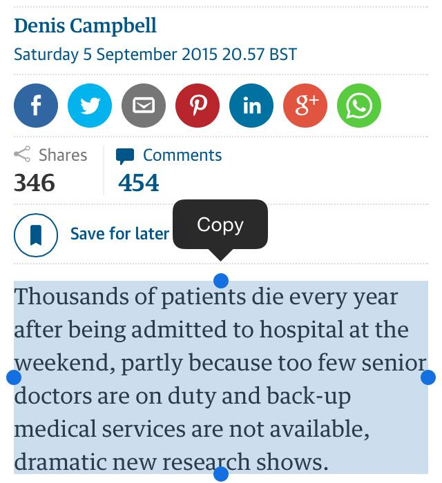 .@denis_campbell @mgtmccartney What new research shows that excess weekend deaths partly due to lack of senior docs? http://t.co/DbqiLw8pFr