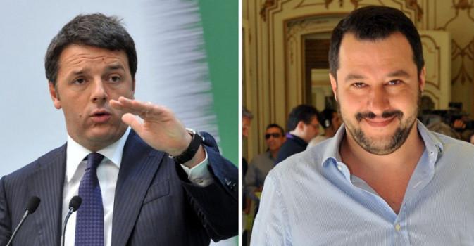 Continua il teatrino tra Renzi e Salvini
