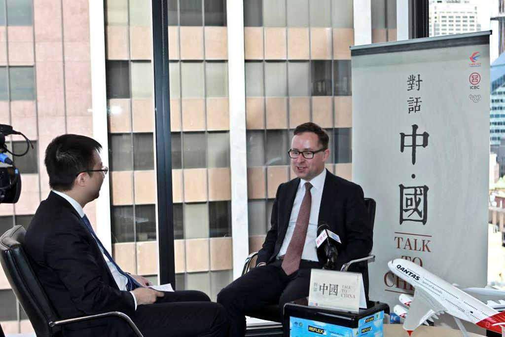 Interview: China-Australia FTA to create one of biggest airline partnerships: Qantas CEO http://t.co/tg5XZsopK9