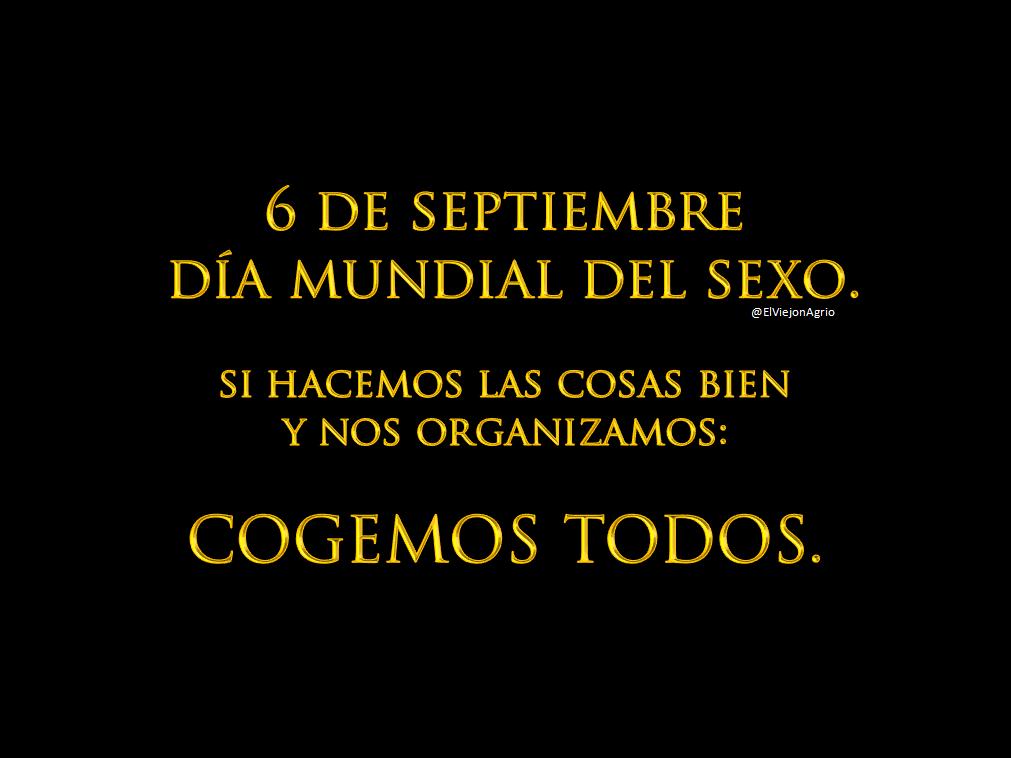 dia mundial del sexo