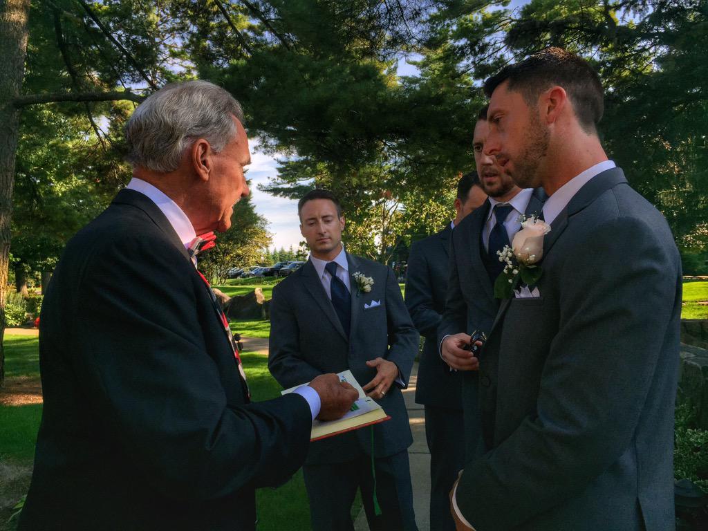 Mickey redmond wedding