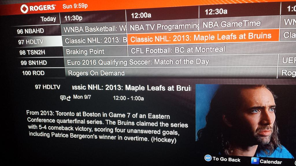 Bergeron! Bergeron! Bergeron!!! @DavidCGoucher RT @mirtle: Hey everybody look what's on at midnight! http://t.co/8w2B6TyNsk