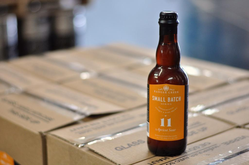 Just a couple of weeks until Small Batch #11 is bottle conditioned and ready to go. Who's excited? #drinkrangercreek http://t.co/NWOmzUN6lJ