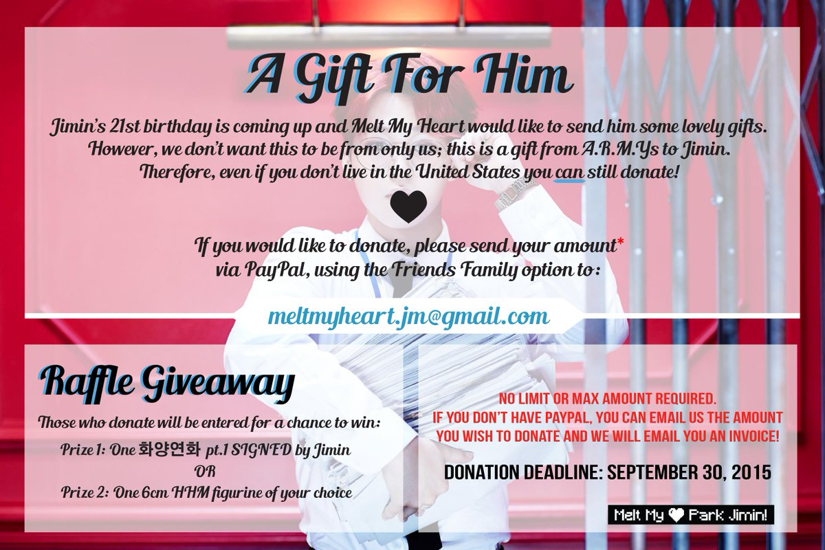 JIMIN 21st Birthday Gift Support Open Internationally Please Read Thoroughly Googl Forms Gr4W0sb93r Pictwitter FjQq6CGLwJ