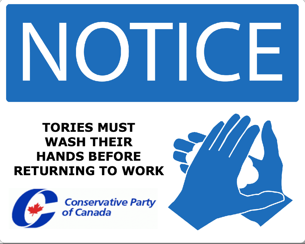 #peegate Damage Control: CPC HQ sends out new signs to every Tory campaign office across Canada. #elxn42 #cdnpoli http://t.co/RPgHb6Tnug