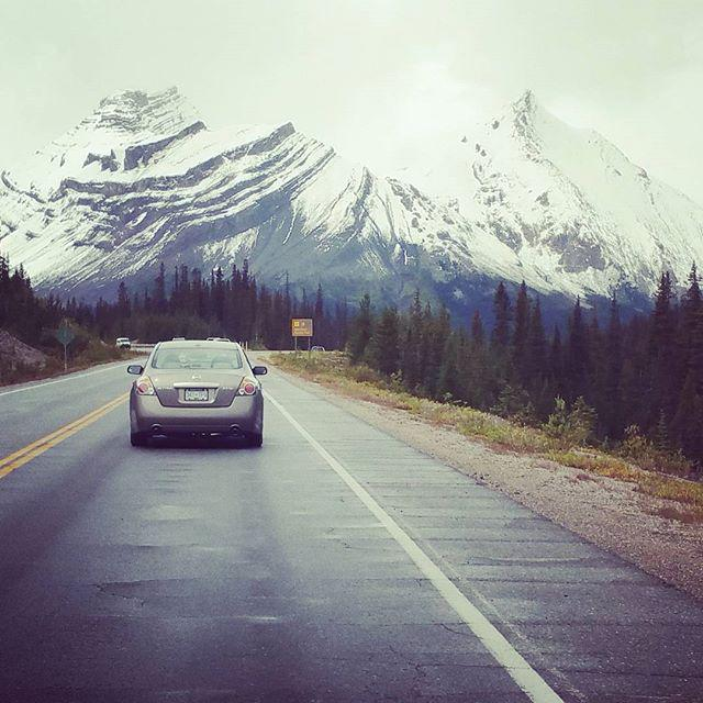 Drove from Banff to Jasper -  one of the most scenic road trips in the world! http://t.co/qyFiAK9H4C