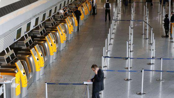 Sciopero piloti aerei Lufthansa martedì 8 settembre.