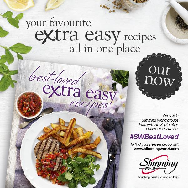 Slimming World On Twitter Our Brand New Book Best Loved Extra Easy Recipes Goes On Sale In