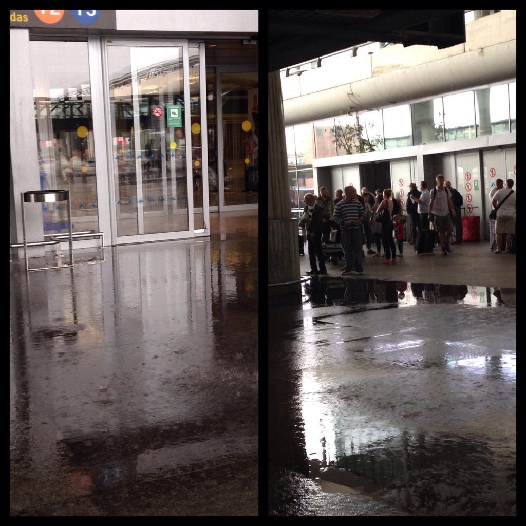 Es una vergüenza que en @malagairportAGP llueva tanto bajo techo como fuera @aena http://t.co/0r7ewN5vSm