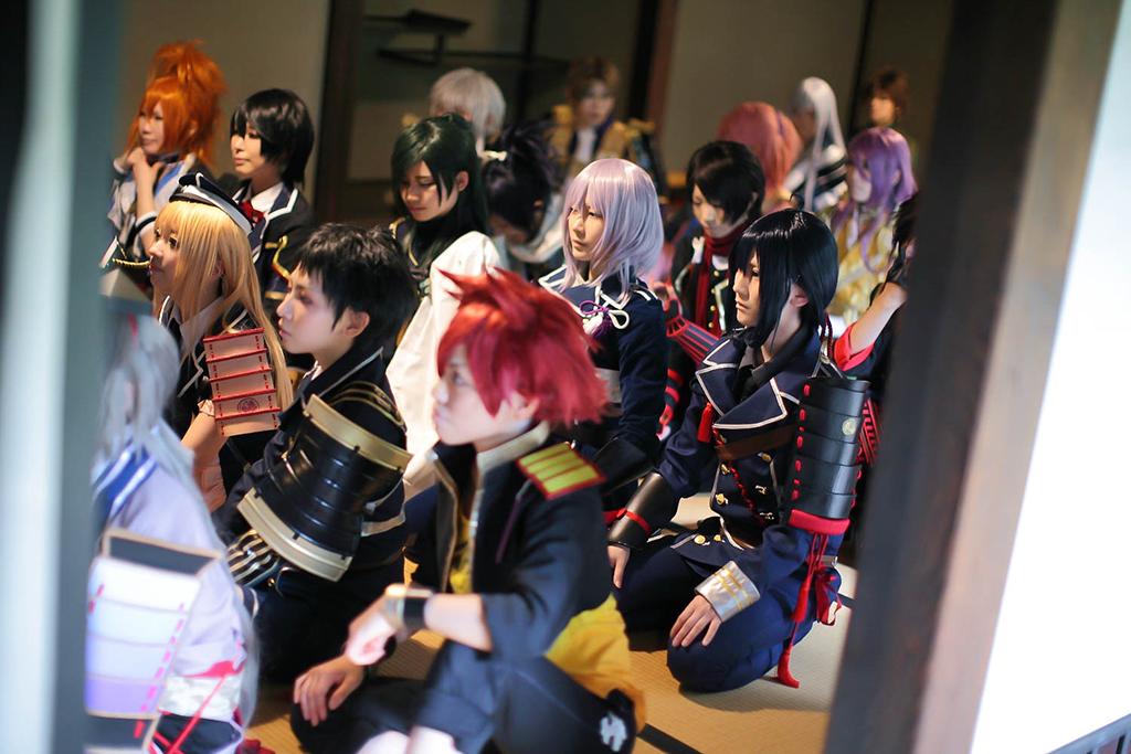 【刀剣乱舞*審神者誕】 雰囲気が伝わるかなって写真を…! photo:ミサキさん @sakimisaki  #レイナ本丸 http://t.co/QkoC4y2et9