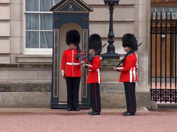 Image result for penjaga Buckingham Palace